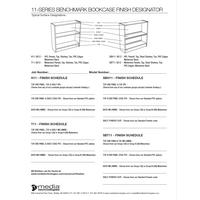 Benchmark Bookcase finish desinator Thumb