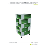 4 Sided High Rise Mobile Display
