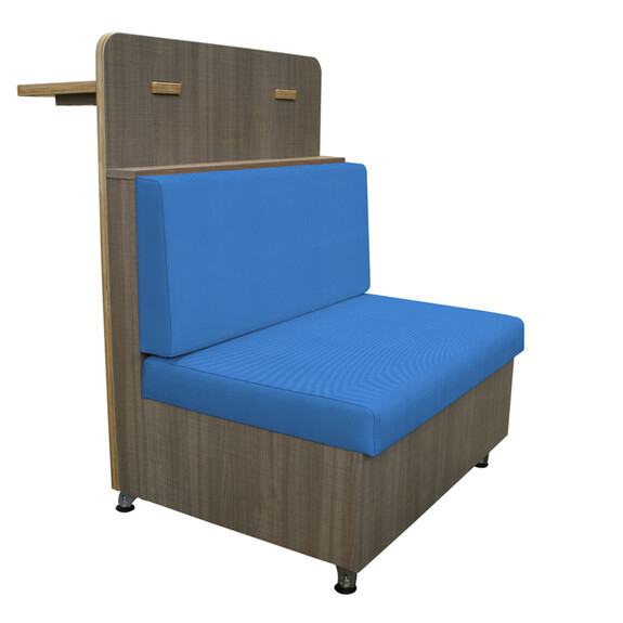 Duo Cafe Chequers Cobalt Created with Mayer TexTile3D Tool