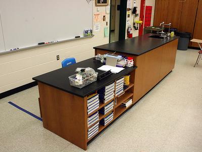 East Brunswick Science Casework