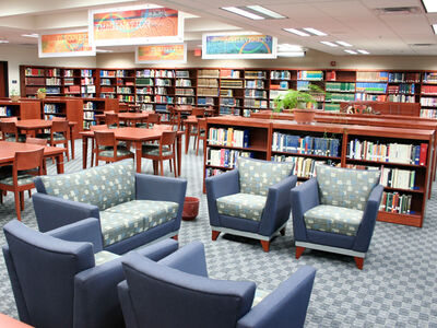 East Lansing High School Library