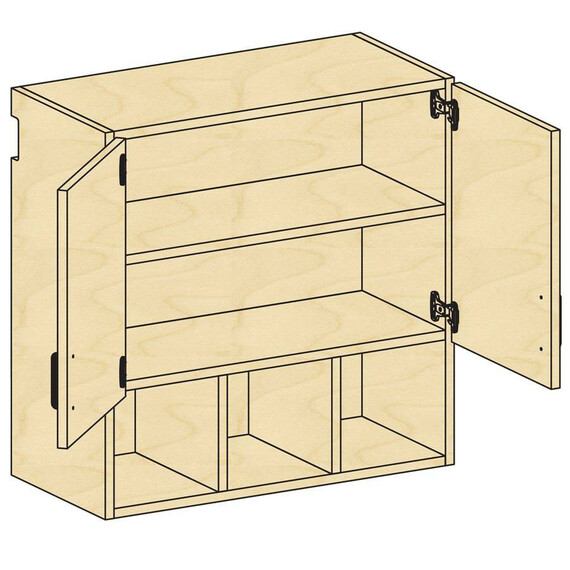 Wall Open-Cupboard Storage - mediatechnologies