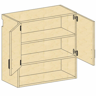 Wall Open-Cupboard Storage