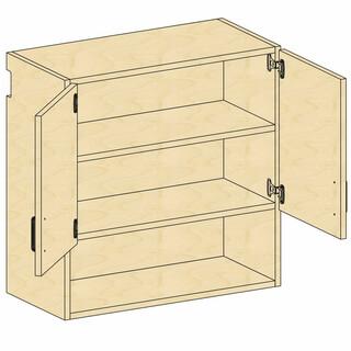 Wall Open-Cupboard Storage