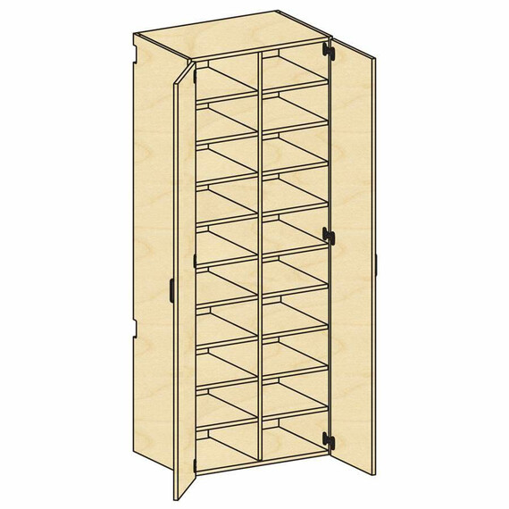 Tall Cubicle Storage - mediatechnologies