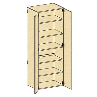 Tall Cupboard Storage