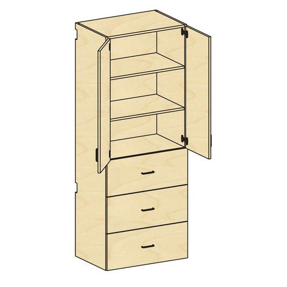 Tall Cupboard Storage - mediatechnologies