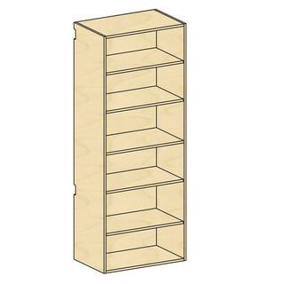 Tall Open Storage