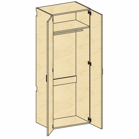 Tall Wardrobe Storage  - mediatechnologies