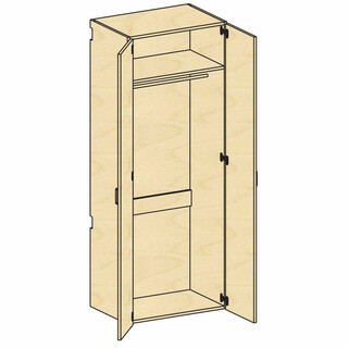 Tall Wardrobe Storage