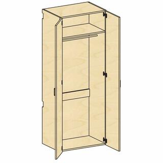 Tall Wardrobe Storage