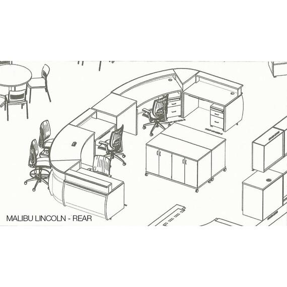 Malibu Lincoln Circulation Desk - mediatechnologies