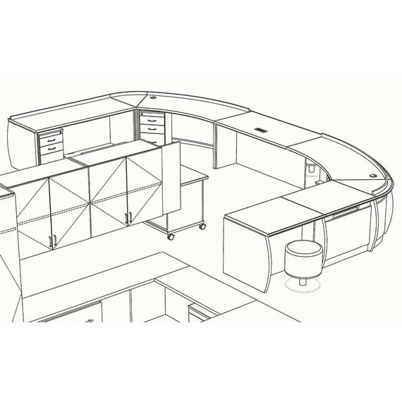Malibu Ranch View Circulation Desk - mediatechnologies