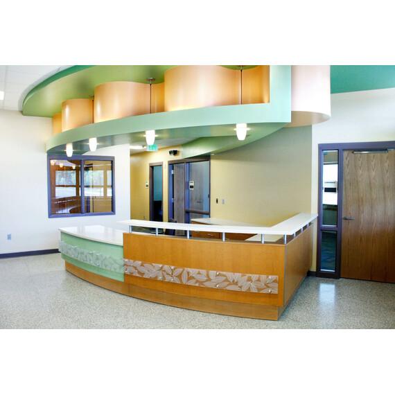 Custom Reception Desks - mediatechnologies