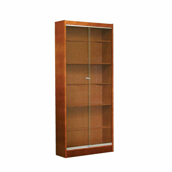 Glass Front Display Case - mediatechnologies