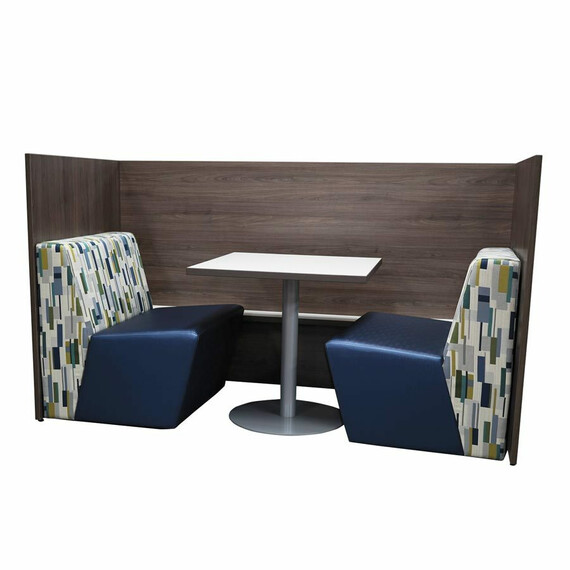 Cabana Panel End Study Carrel - mediatechnologies