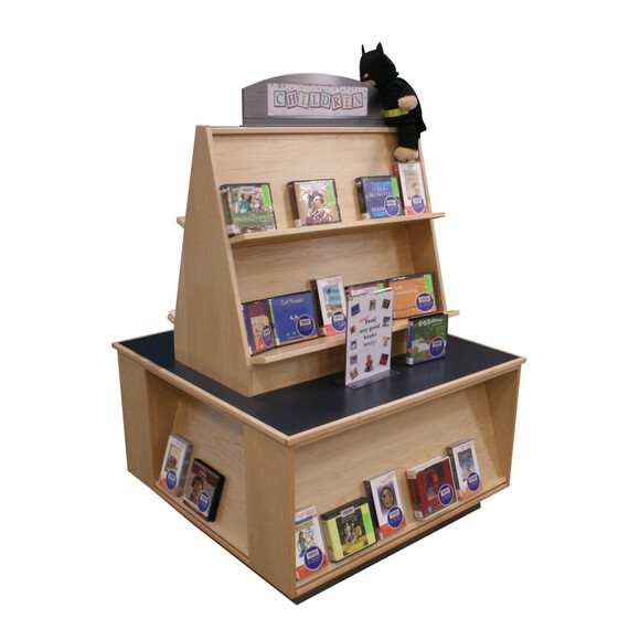 Tapered Book Display Platform - mediatechnologies