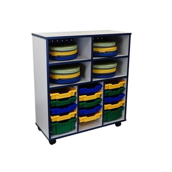 Drift Open Tote Storage - mediatechnologies