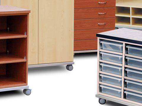 freestanding and mobile cabinets