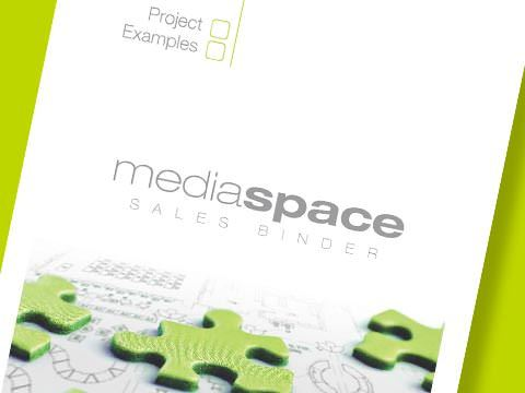 mediaspace Sales Binder