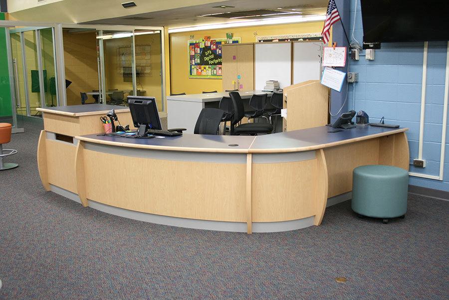 Image result for circulation desk